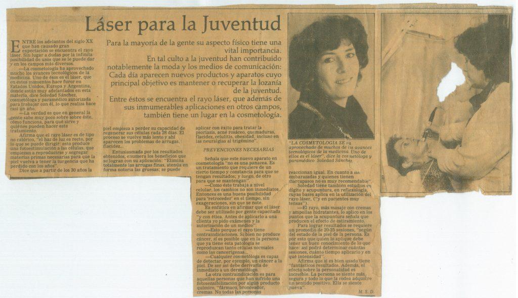 Historia Soledad Sanchez